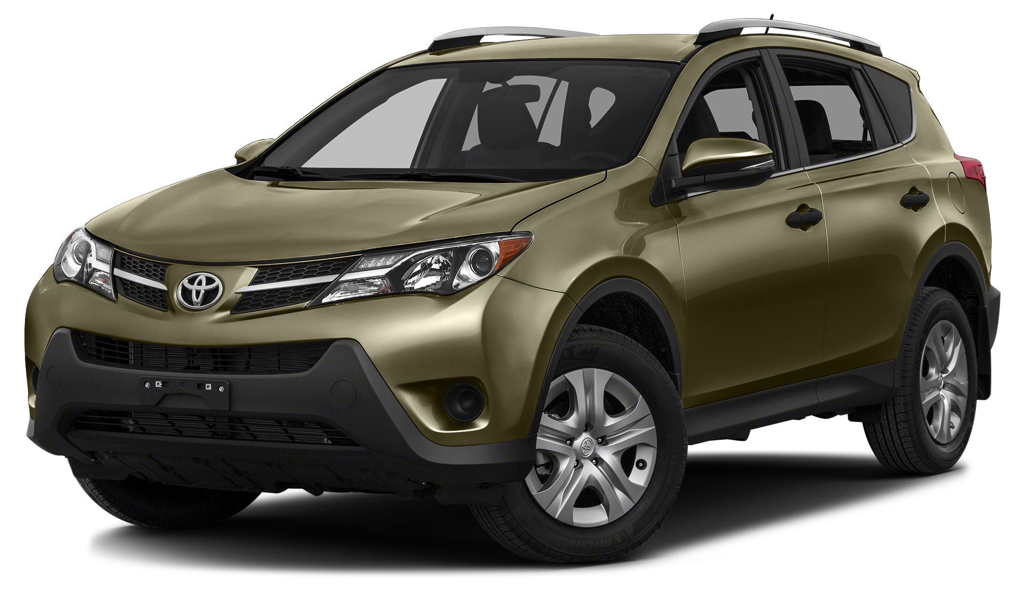 2014 Toyota RAV4 XLE PYRITE MICA exterior and BLACK interior XLE trim CARFAX 1-Owner EPA 29 MPG