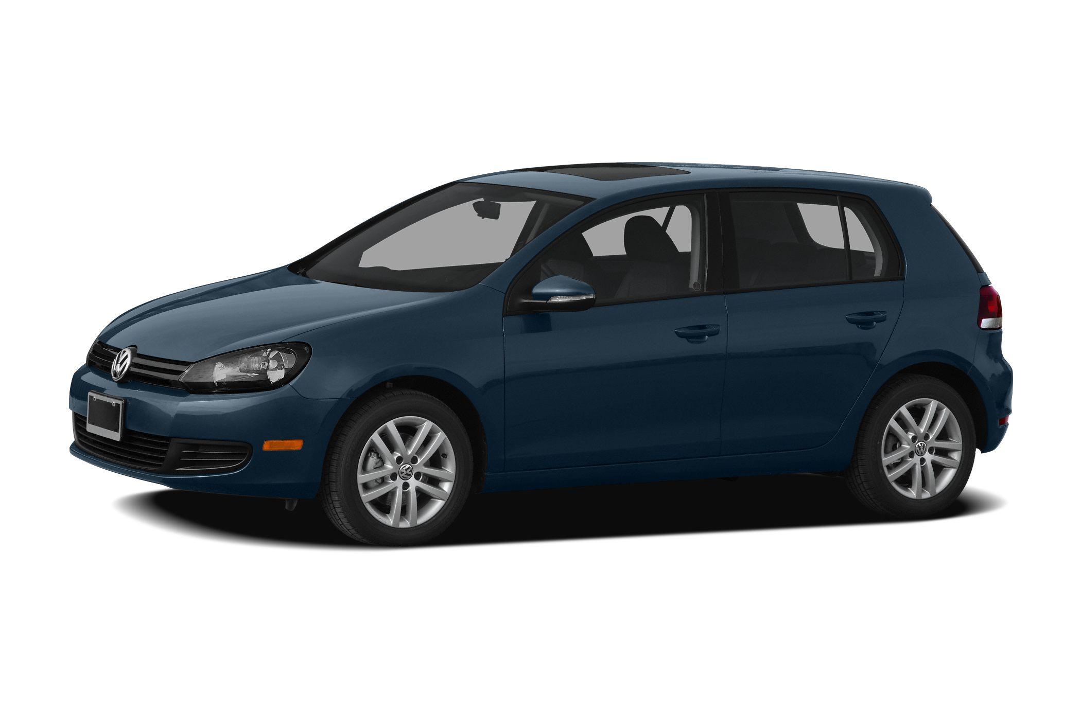 2011 Volkswagen Golf TDI 4-Door 20L 4-Cylinder TDI Turbocharged 140 hp Black Clean CARFAX Recen