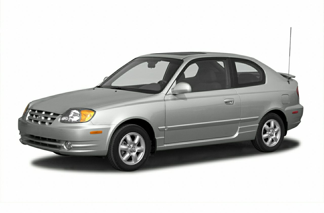 2003 Hyundai Accent GL Miles 414536Stock t9980 VIN KMHCG35C43U277501
