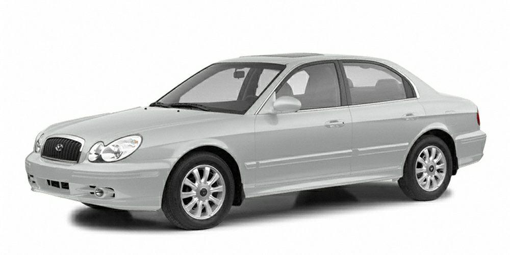 2003 Hyundai Sonata Base Miles 138460Color Silver Stock K13907B VIN KMHWF25S23A731618