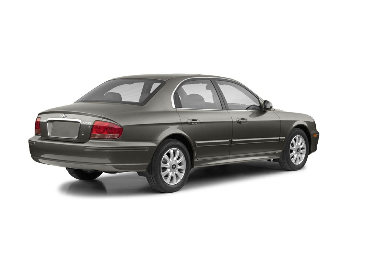 2003 Hyundai Sonata GLS 27L V6 MPI DOHC Clean CARFAX Champagne 2003 Hyundai Sonata GLS FWD 27L
