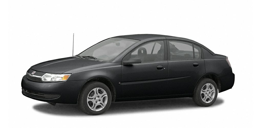2003 Saturn ION 1 Miles 155589Color Black Stock K16381A VIN 1G8AF52F13Z148802
