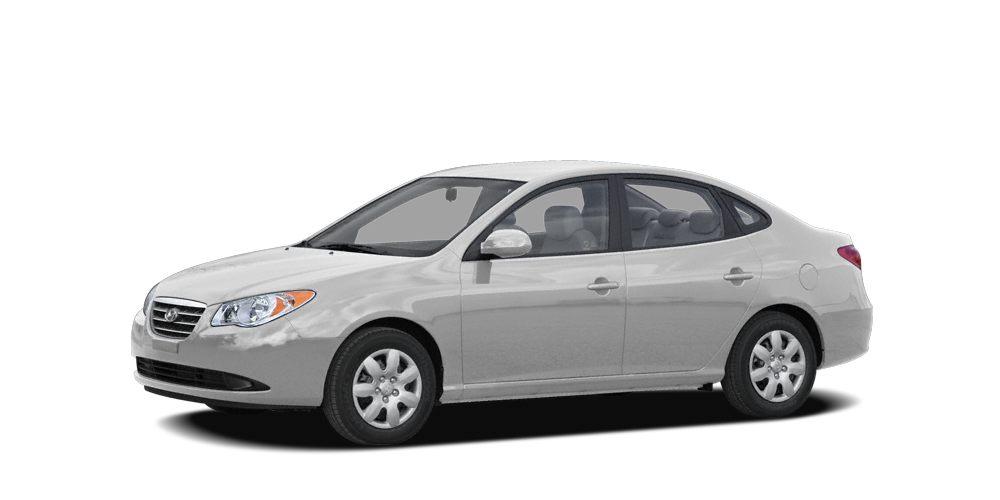 2008 Hyundai Elantra GLS Miles 76307Color Quicksilver Stock L9114A VIN KMHDU46D08U570474