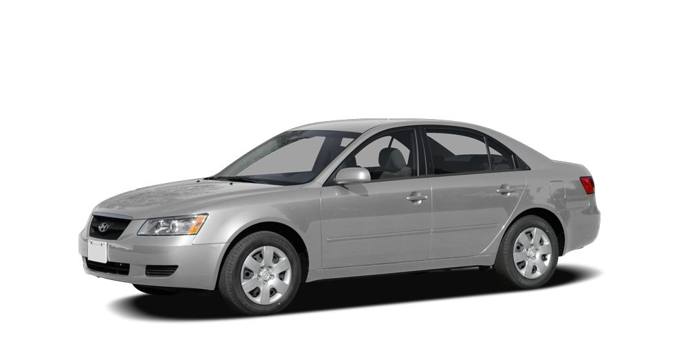 2008 Hyundai Sonata  CARFAX One Owner Leather Package 33L V6 DOHC 24V and Power Tilt  Slide Gl