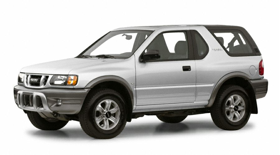 2001 Isuzu Rodeo S Miles 194430Color White Stock 17051A VIN 4S2CK58DX14357406