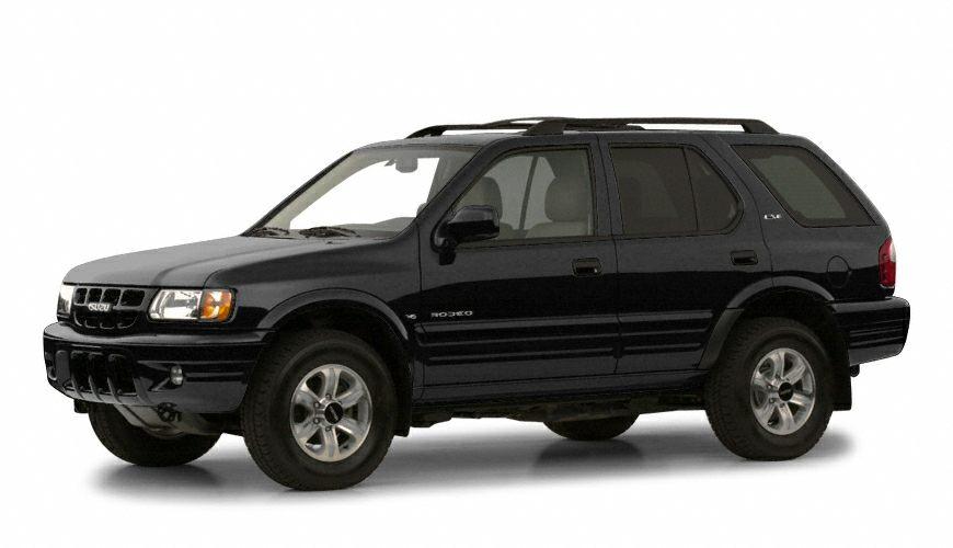 2001 Isuzu Rodeo LS 32L V6 DOHC 24V Fuel Injection Call us now Regal Honda means business  Wa