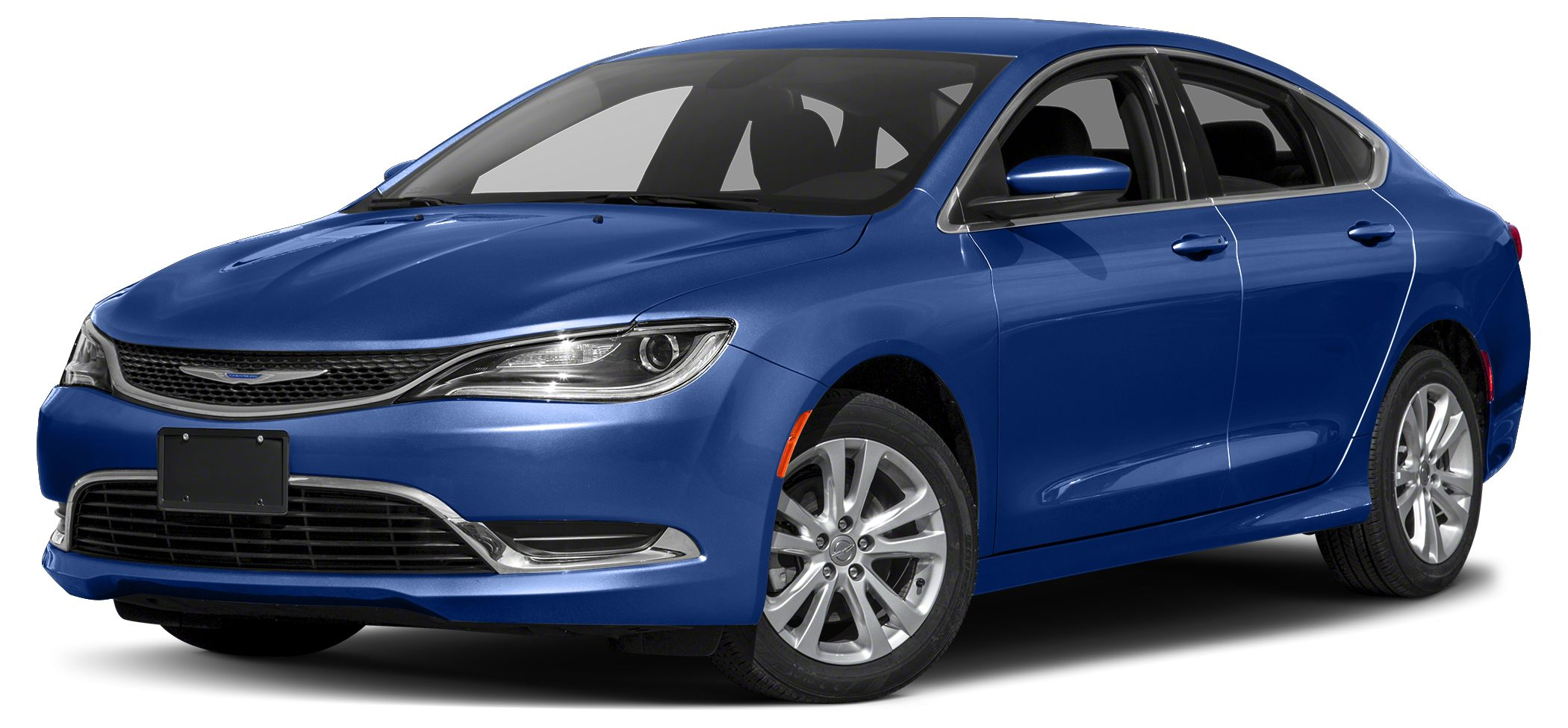 2015 Chrysler 200 Limited Miles 44370Color Vivid Blue Pearlcoat Stock UC2061 VIN 1C3CCCAB4FN