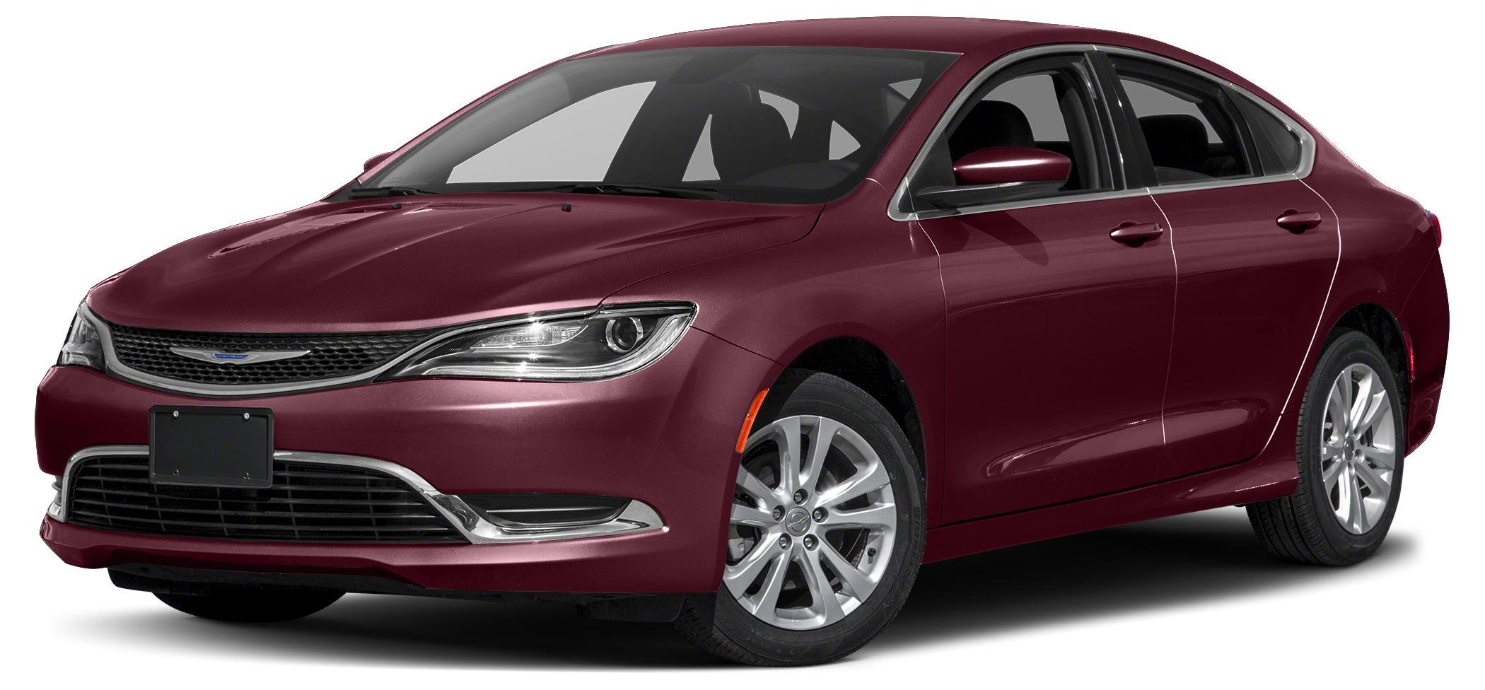 2017 Chrysler 200 Limited Miles 3446Color Velvet Red Pearlcoat Stock N5537 VIN 1C3CCCAG9HN50