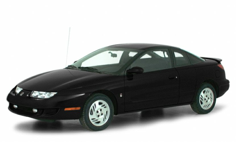 2000 Saturn SC2 Base Miles 1Color Black Stock YE2018 VIN 123456