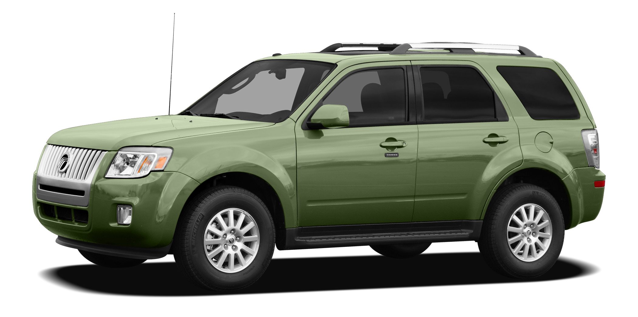 2010 Mercury Mariner Base Miles 68014Color Green Stock CF3860B VIN 4M2CN8B79AKJ19348