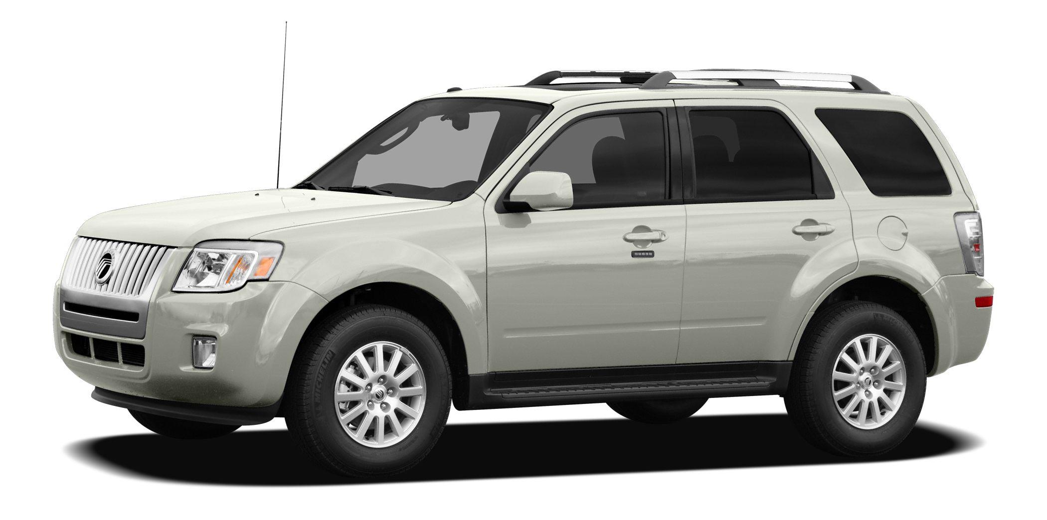2010 Mercury Mariner Premier Premier 4WD 6-Speed Automatic 25L I4 iVCT 4WDWhy Buy a Flood Qua