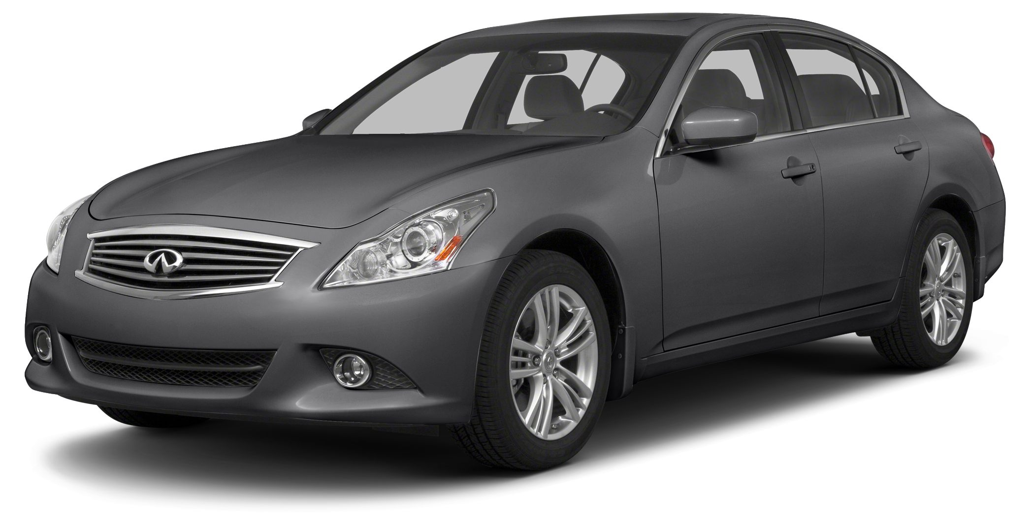 2013 Infiniti G37x Base Navigation AWD Graphite Shadow Gray on Black Heated Leather Bluetooth