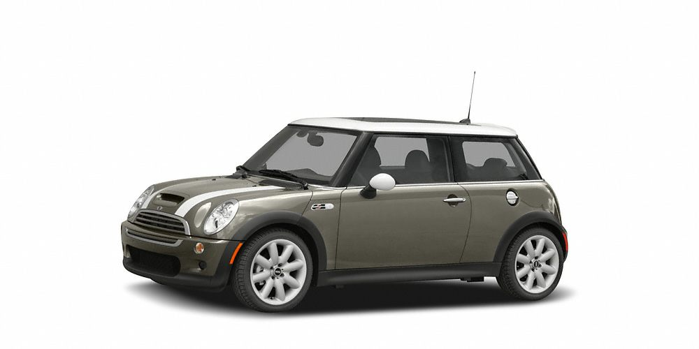 2006 MINI Cooper S Look at this 2006 MINI Cooper Hardtop S Its transmission and Gas 4-Cyl 16L97