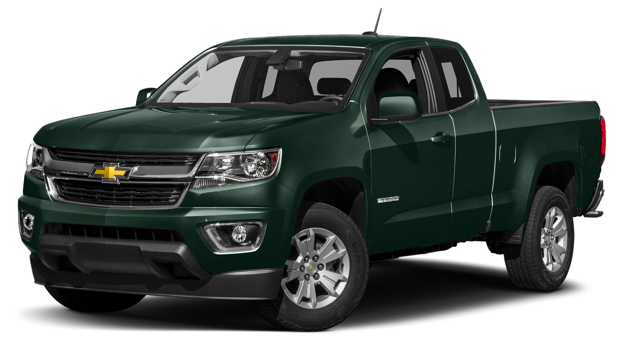 2016 Chevrolet Colorado WT Miles 0Color Rainforest Green Metallic Stock G5005 VIN 1GCHSBEA8G