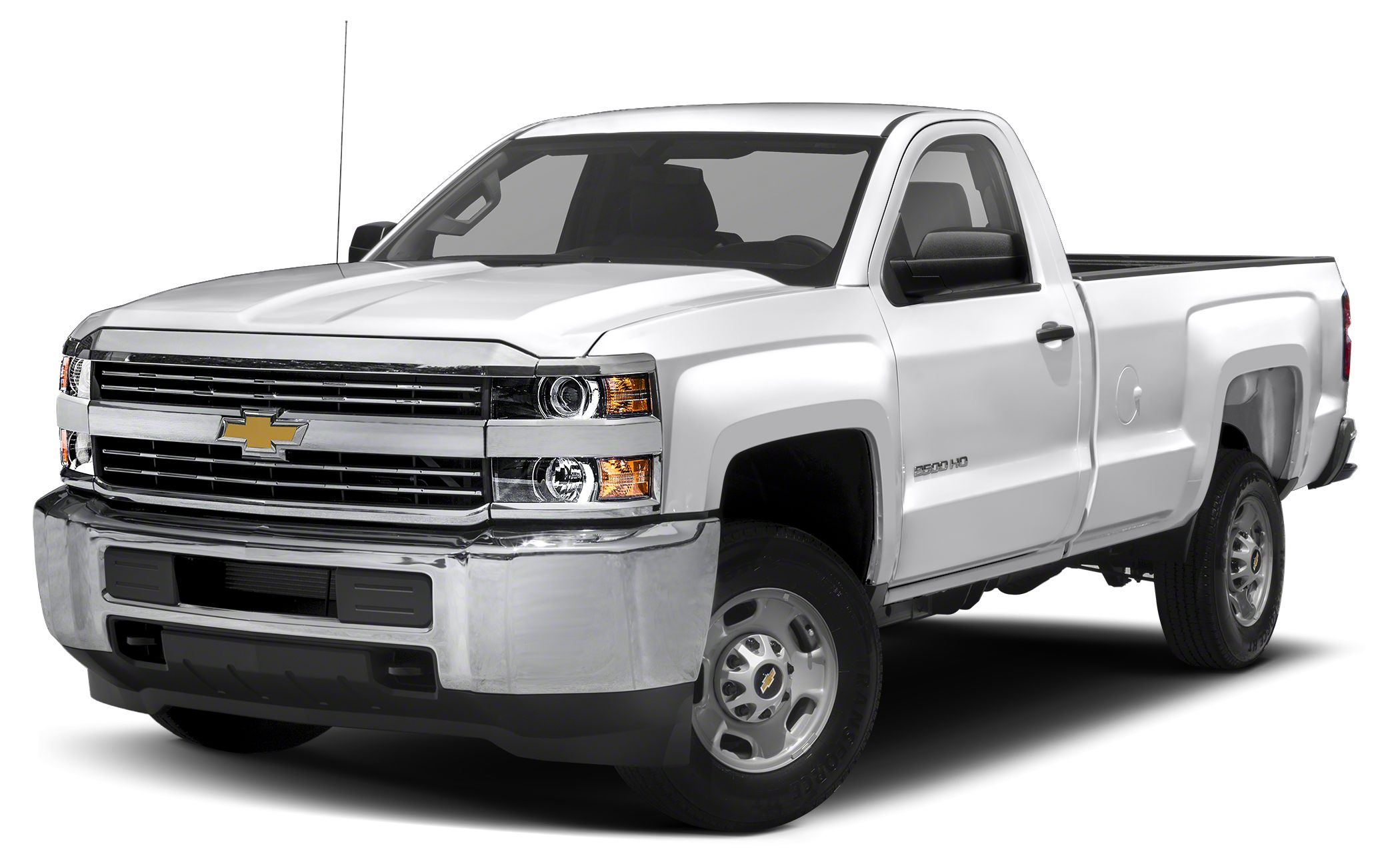 2016 Chevrolet Silverado 2500HD WT Heavy-Duty Trailering Equipment Integrated Trailer Brake Contr