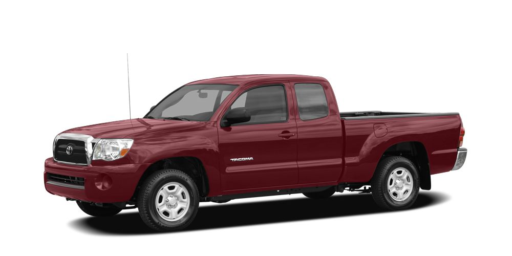 2007 Toyota Tacoma Base Miles 88299Color Impulse Red Pearl Stock 2185 VIN 5TETX22N37Z458512