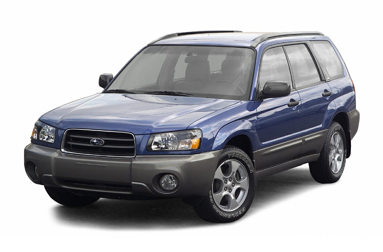 2004 Subaru Forester 25 XS Miles 65360Color Platinum Silver  Steel Gray Metallic Stock N2168A