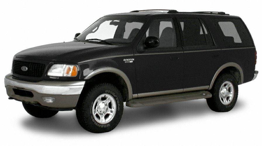 2000 Ford Expedition Eddie Bauer Miles 0Color Black Stock U2303A VIN 1FMEU17L2YL349342