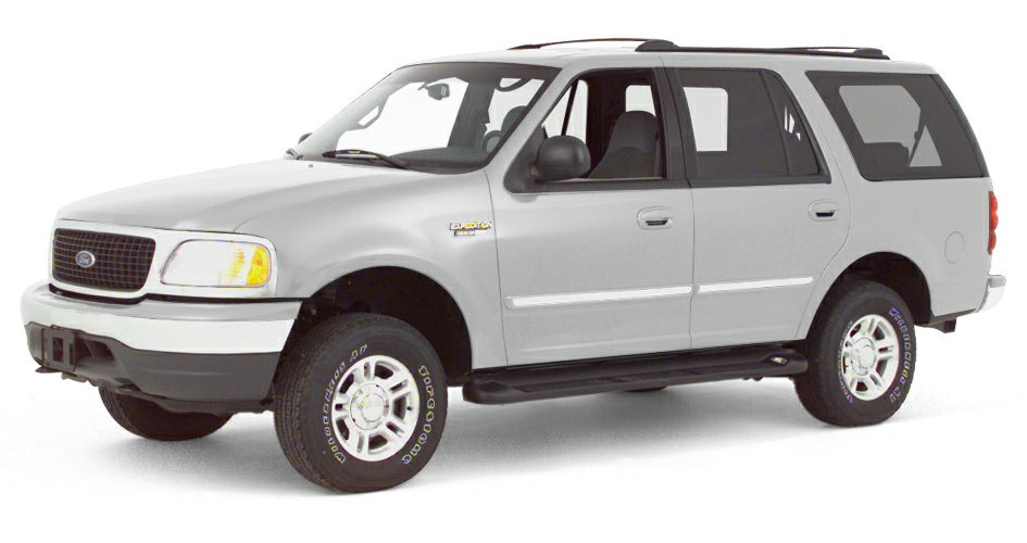 2000 Ford Expedition XLT Miles 141893Color White Stock SB16864A VIN 1FMRU15L4YLA28930