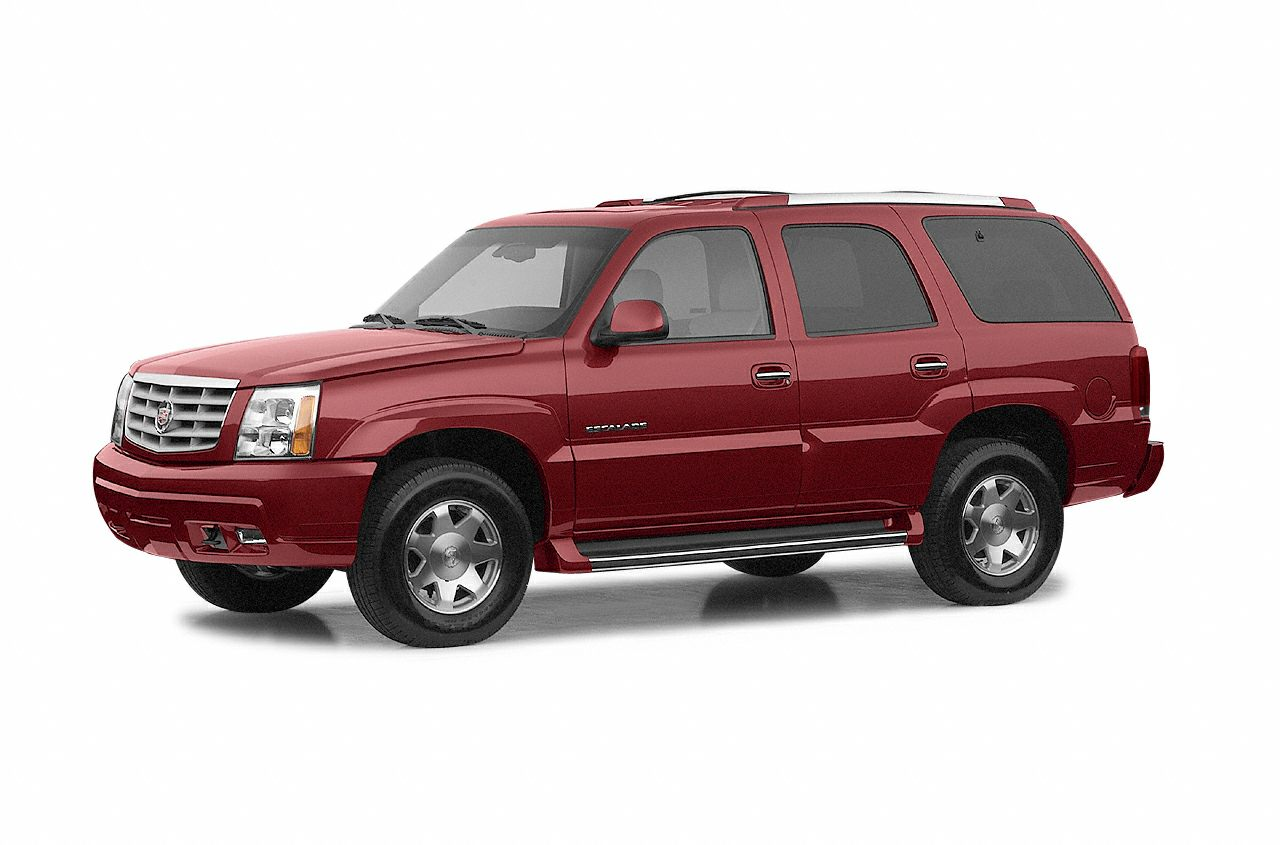 2002 Cadillac Escalade Base This SUV is in excellent condition It drives really smooth like you