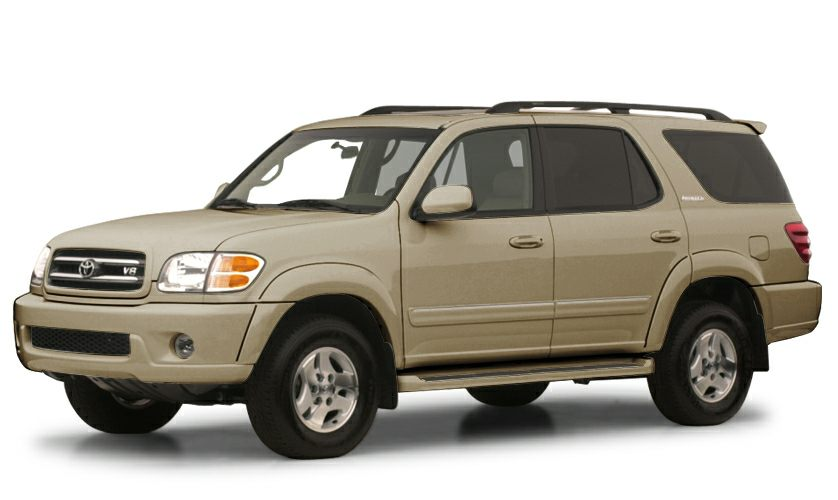 2001 Toyota Sequoia SR5 Land a deal on this 2001 Toyota Sequoia SR5 while we have it Roomy but ag