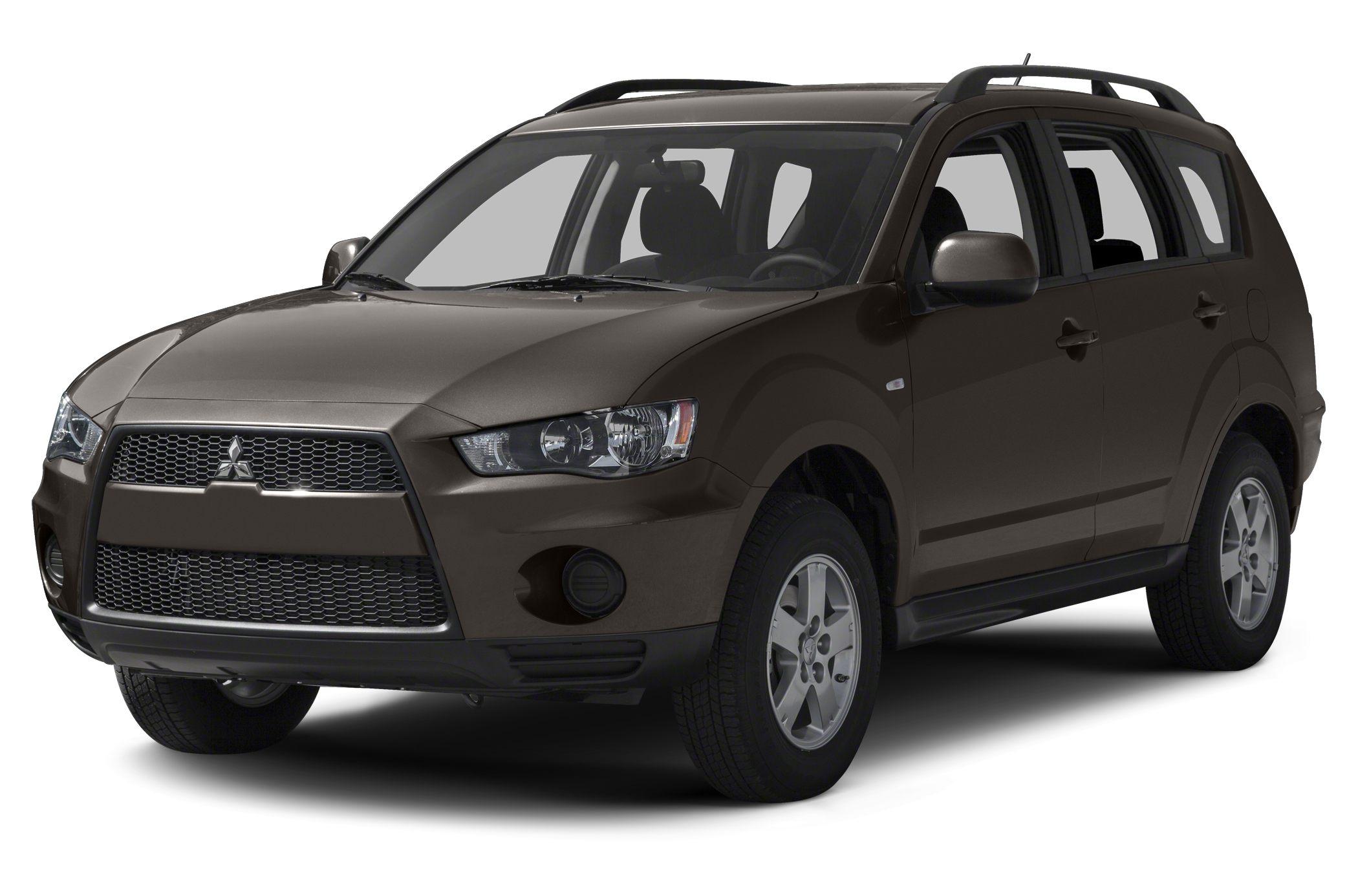 2013 Mitsubishi Outlander SE Miles 54653Color Brown Stock V3028P VIN JA4AS3AW0DU003301