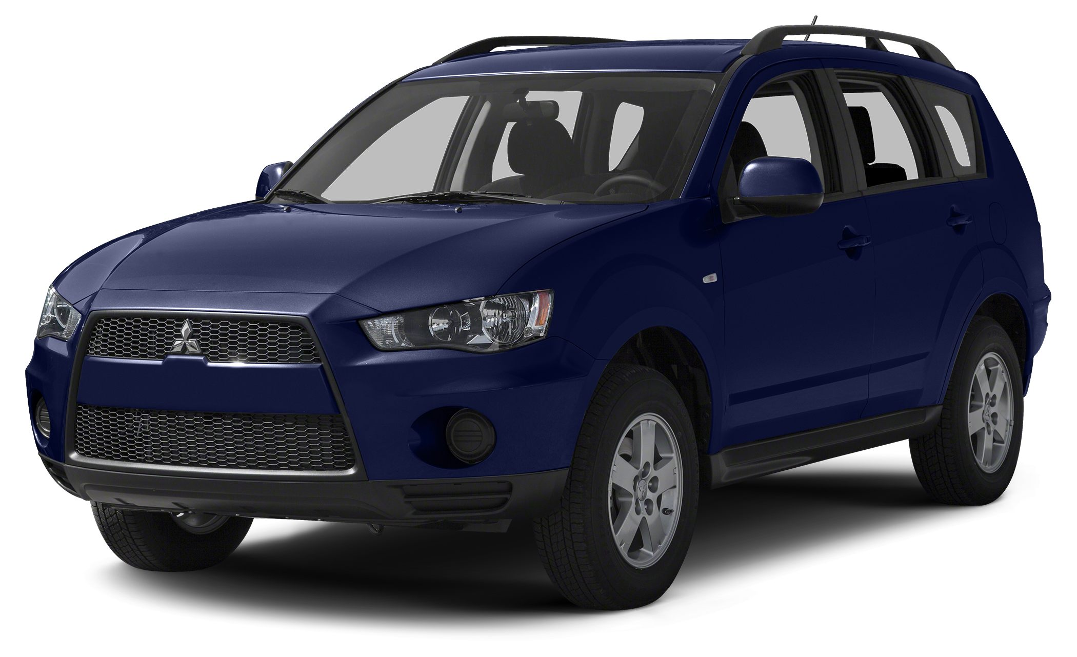 2013 Mitsubishi Outlander SE ALUMINUM WHEELS TIRES - FRONT PERFORMANCE TIRES - REAR PERFORMANCE