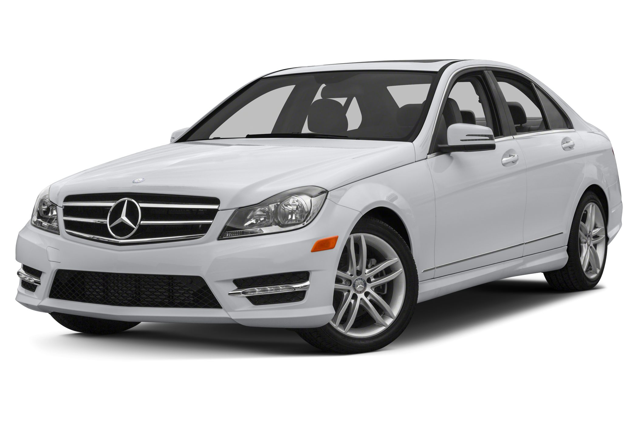 2013 MERCEDES C-Class C250 Sport Vehicle Detailed Recent Oil Change and Passed Dealer Inspection