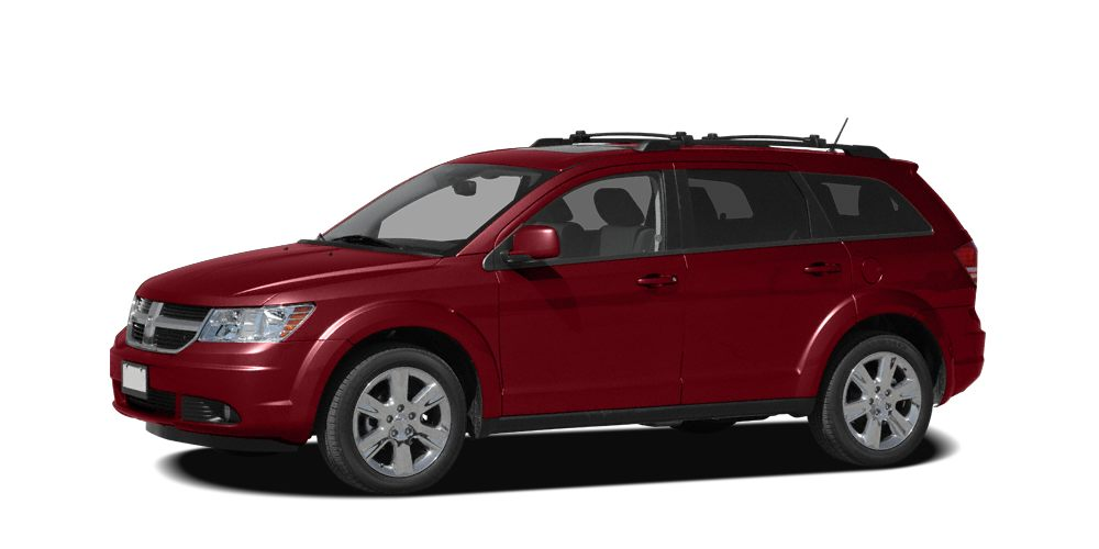 2009 Dodge Journey SXT SXT trim 12000 Mile Warranty Inferno Red Crystal Pearl exterior PRICED TO