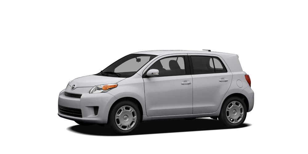 2011 Scion xD Base CARFAX 1-Owner GREAT MILES 59967 CLASSIC SILVER METALLIC exterior and DARK C