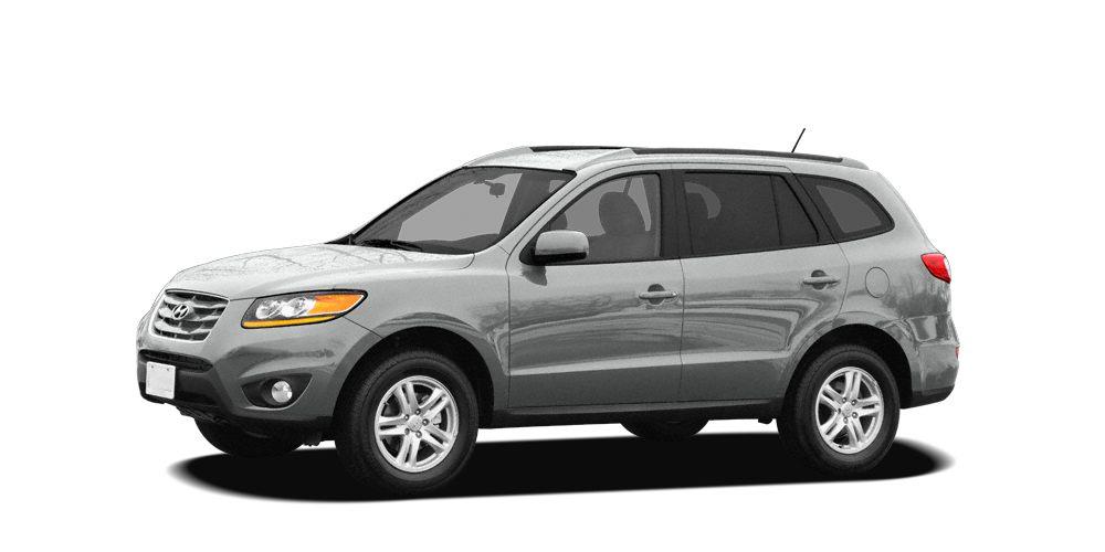 2010 Hyundai Santa Fe Limited Miles 124490Color Radiant Silver Stock 00C5537A VIN 5NMSK4AG5A