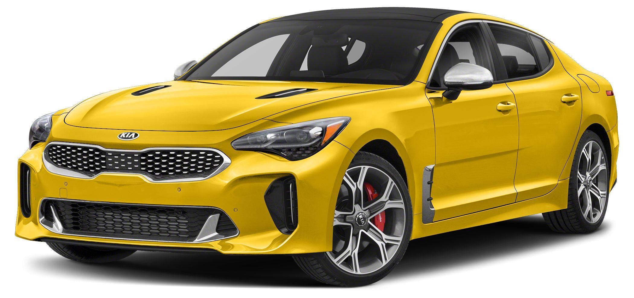 2018 Kia Stinger GT Miles 9Color Sunset Yellow Stock SB17942 VIN KNAE35LC2J6020357