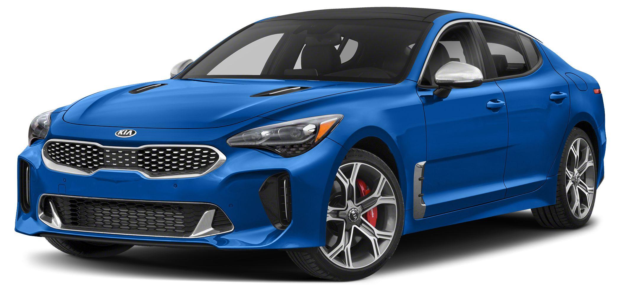 2018 Kia Stinger GT2 Miles 10Color Micro Blue Stock SB17997 VIN KNAE55LC0J6027463