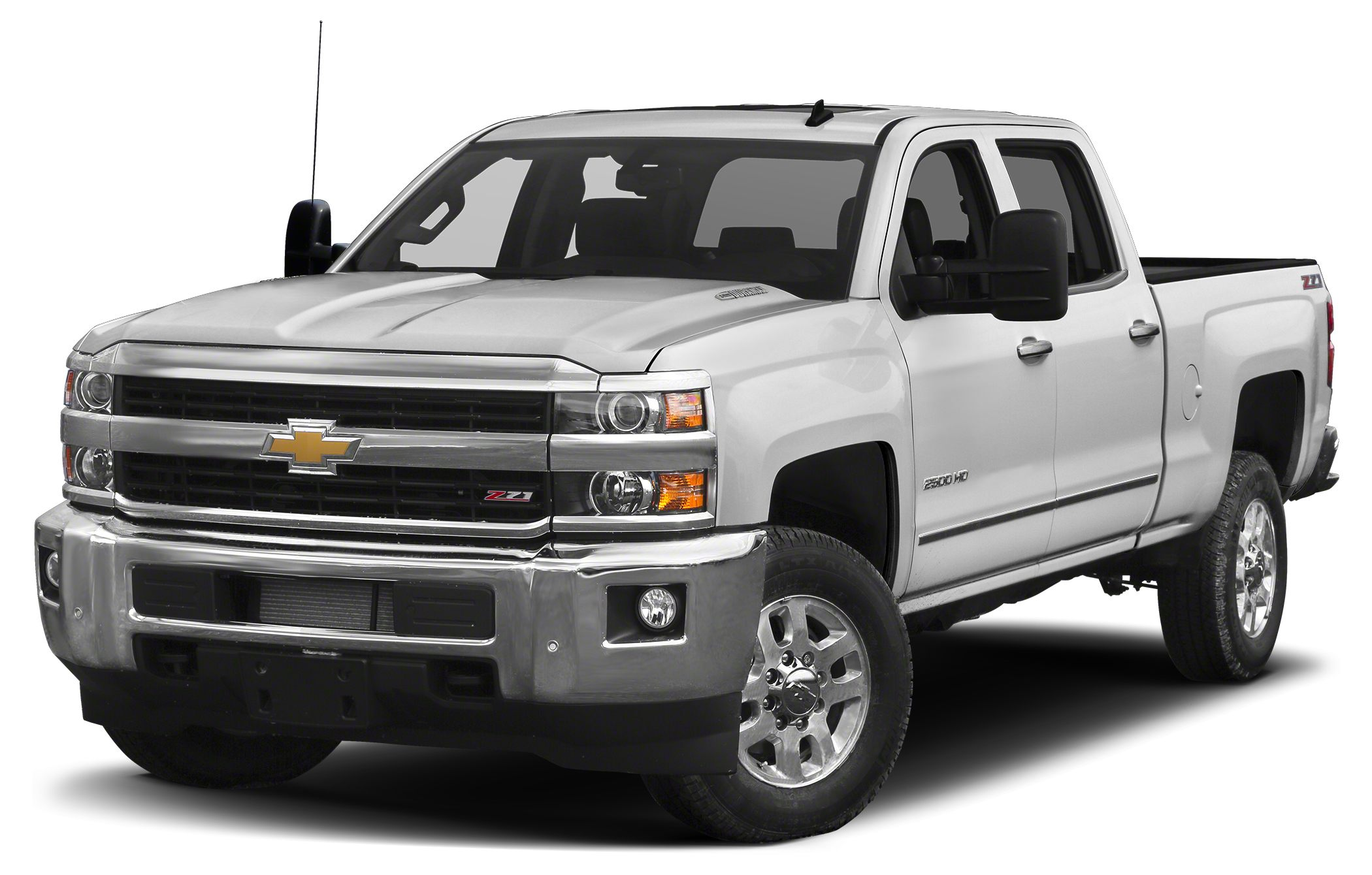 2016 Chevrolet Silverado 2500HD LTZ 18 Black SOTA Wheels with 35 BF Goodrich All Terrains Levelin