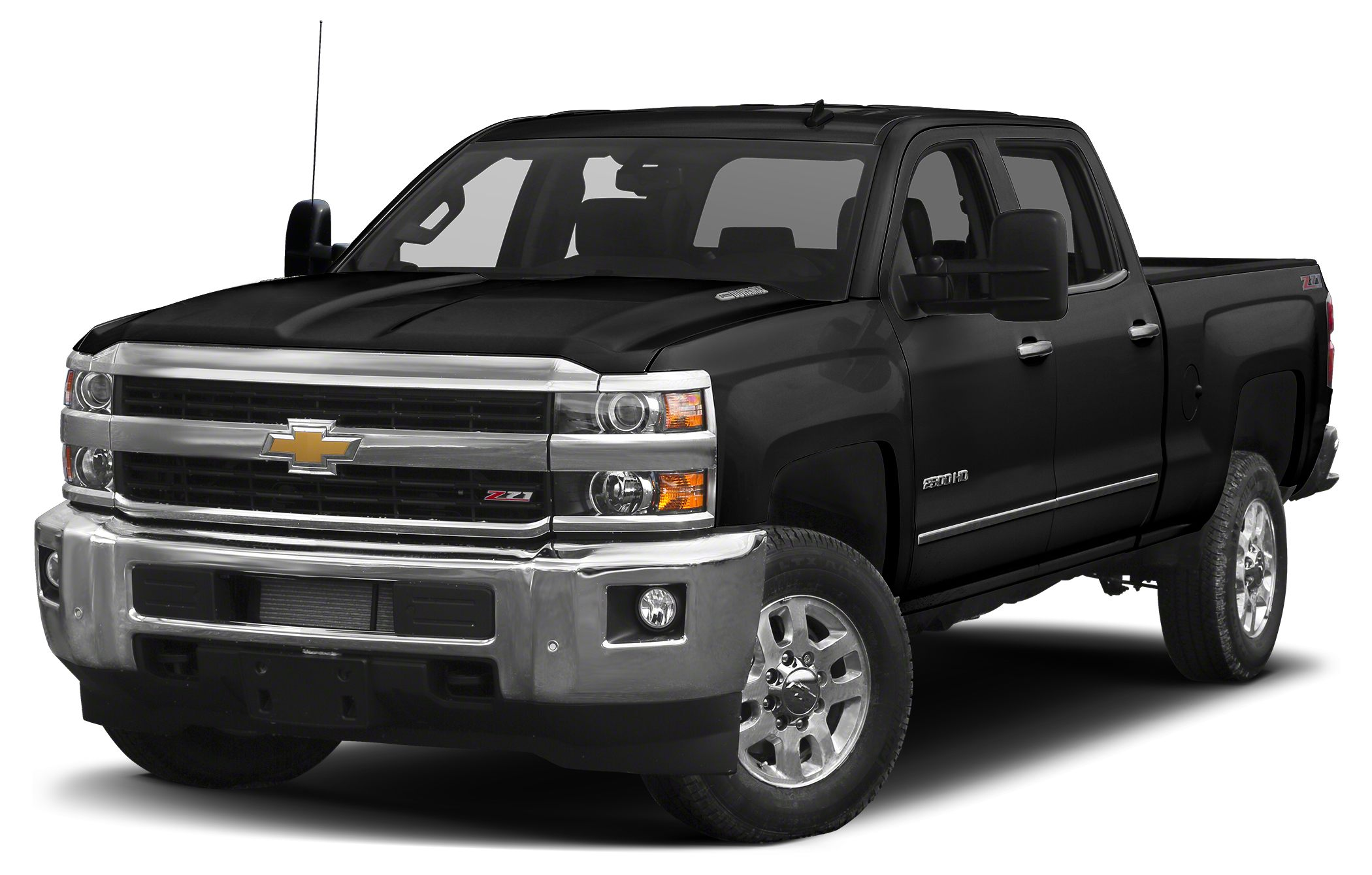 2015 Chevrolet Silverado 2500HD LTZ Black 2015 Chevrolet Silverado 2500HD LTZ 4WD Allison 1000 6-S