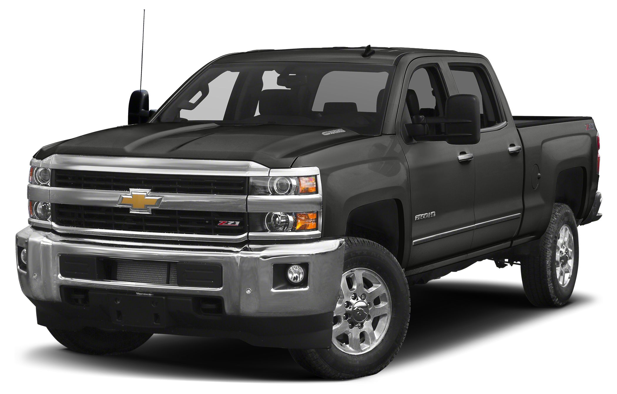 2015 Chevrolet Silverado 2500HD LTZ Allison 1000 6-Speed Automatic 4WD Jet Black wLeather Appoi
