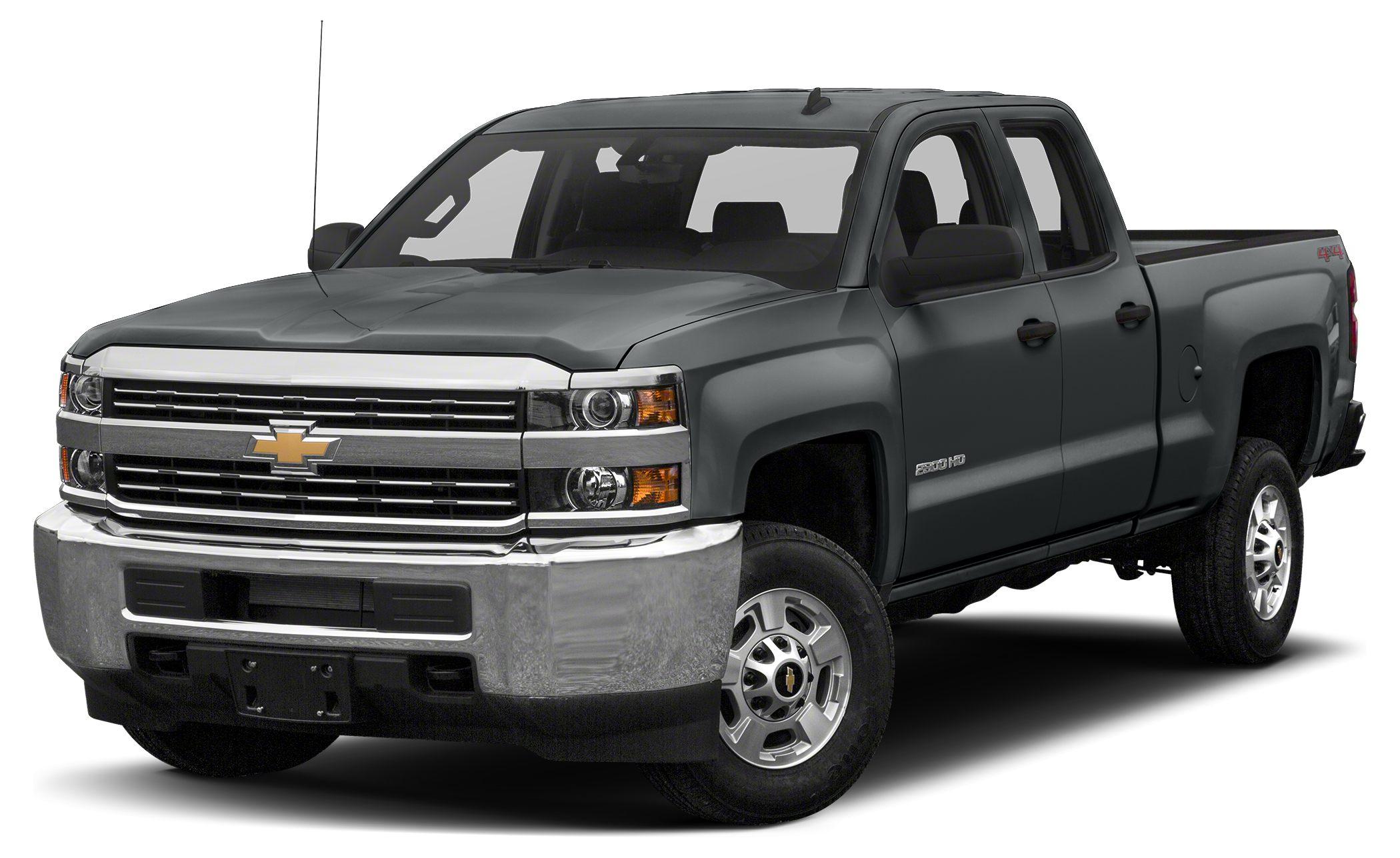 2016 Chevrolet Silverado 2500HD WT Work Truck trim BLACK exterior and JET BLACK  DARK ASH interi