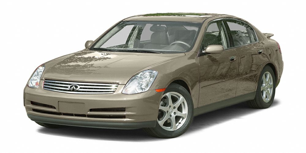 2003 INFINITI G35 Luxury Recent Arrival Clean CARFAX Priced below KBB Fair Purchase PriceGra