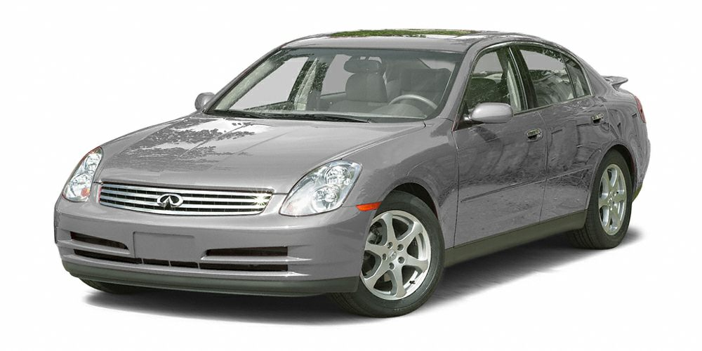 2003 Infiniti G35 Luxury Miles 209697Color Brilliant Silver Stock BB23121B VIN JNKCV51E43M00