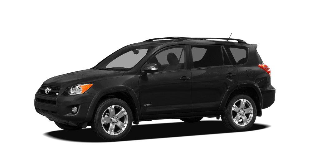 2009 Toyota RAV4 Base BLACK exterior and ASH interior RAV4 trim FUEL EFFICIENT 28 MPG Hwy22 MPG
