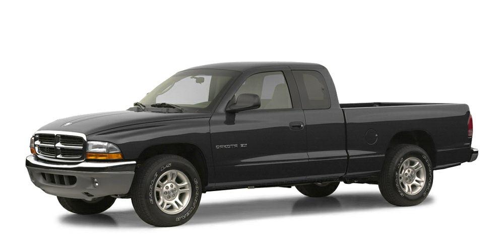 2003 Dodge Dakota Base Miles 90906Color Black Clearcoat Stock L16079B VIN 1D7HG12X83S300771