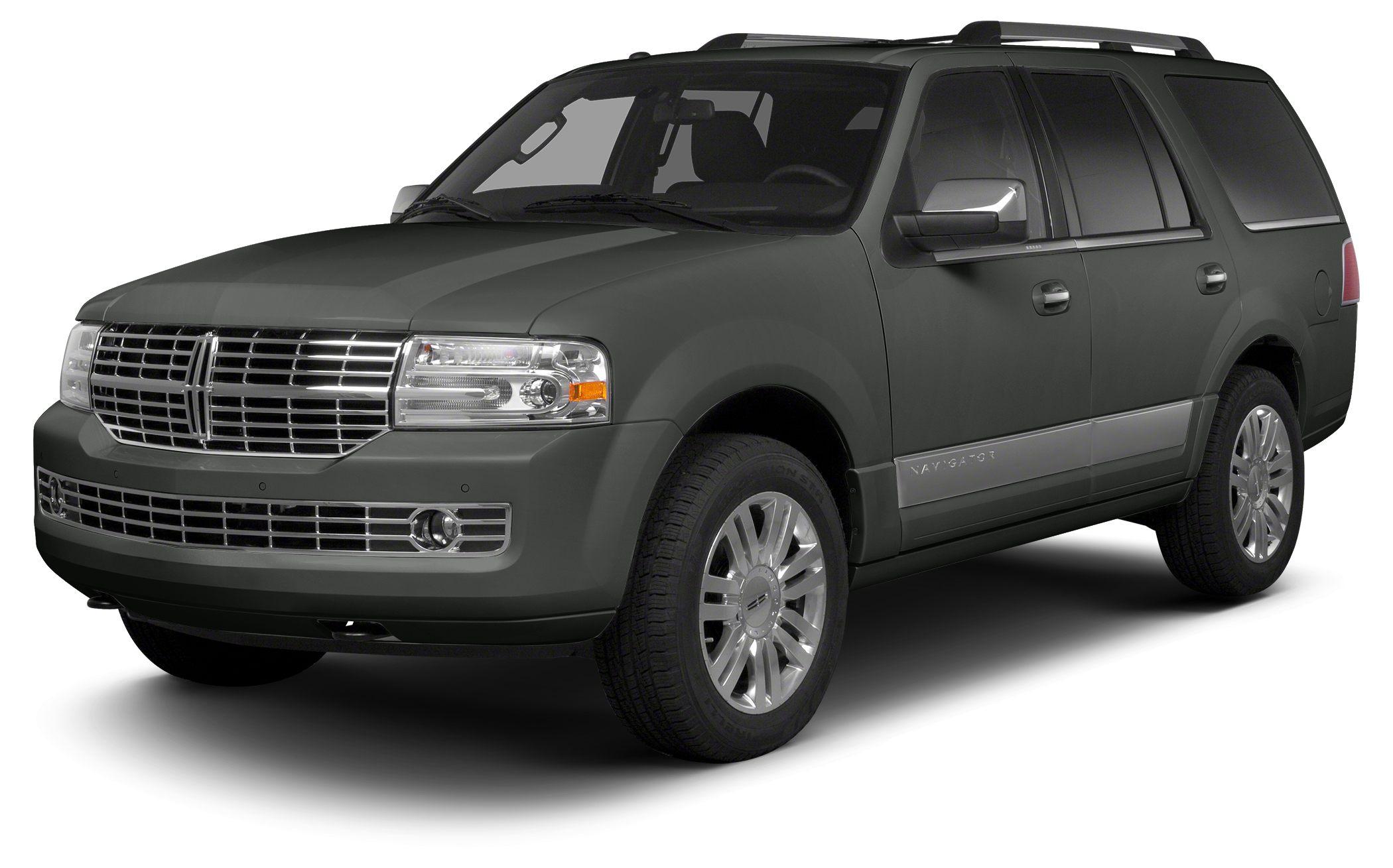 2013 Lincoln Navigator Base Miles 34605Color Gray Stock P6728 VIN 5LMJJ2H52DEL05580