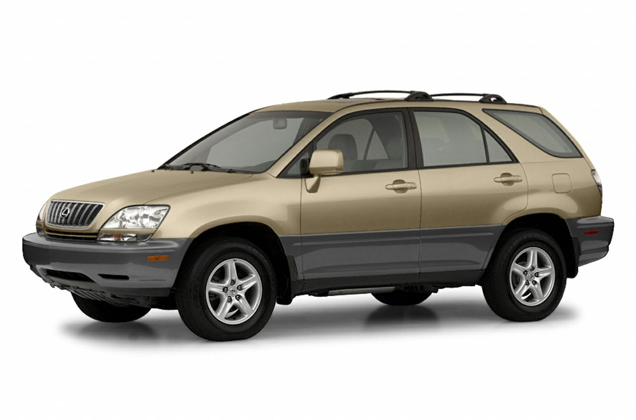 2002 Lexus RX 300 Base Miles 172042Color Burnished Gold Metallic Stock 102 VIN JTJGF10U52014