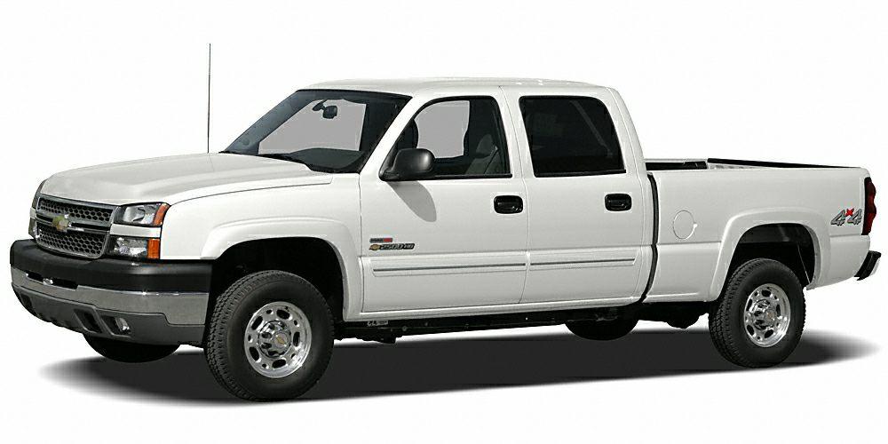 2005 Chevrolet Silverado 2500HD LS 4WD Miles 312007Color White Stock FU966529 VIN 1GCHK23U