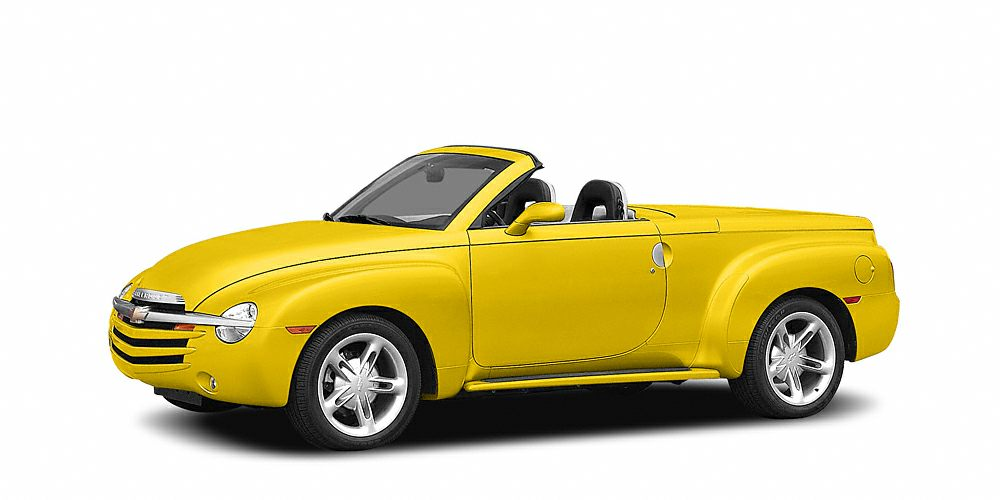 2005 Chevrolet SSR Base SSR SLINGSHOT YELLOW 60L V8 ENGINE 6 SPEED MANUAL CARPE