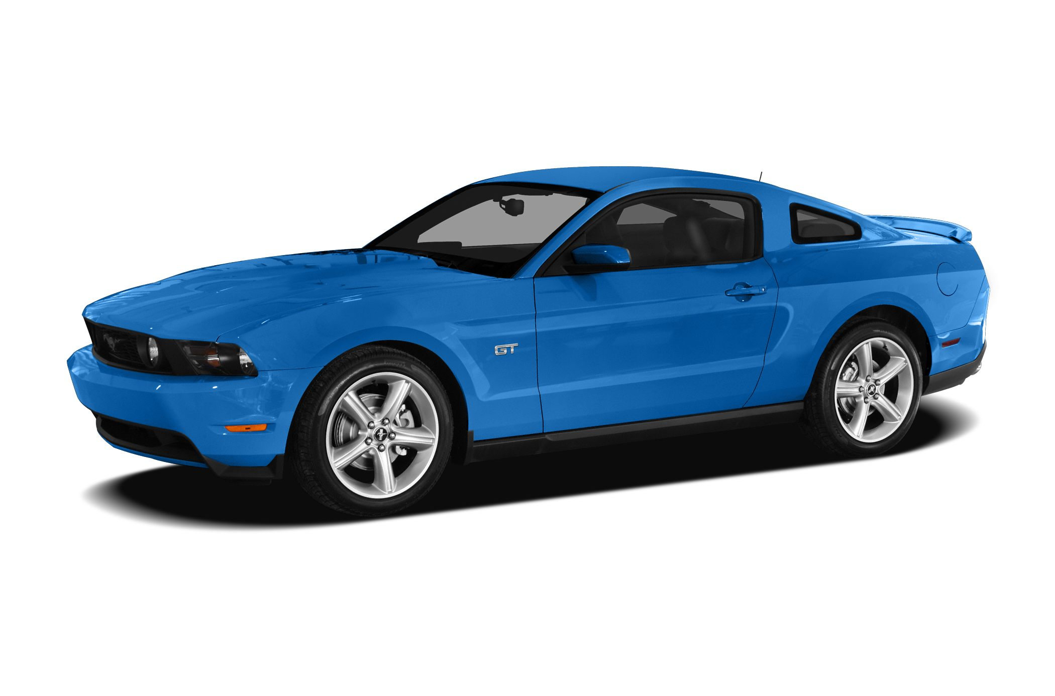 2010 Ford Mustang V6 Miles 54537Color Blue Stock 17038 VIN 1ZVBP8AN5A5130984