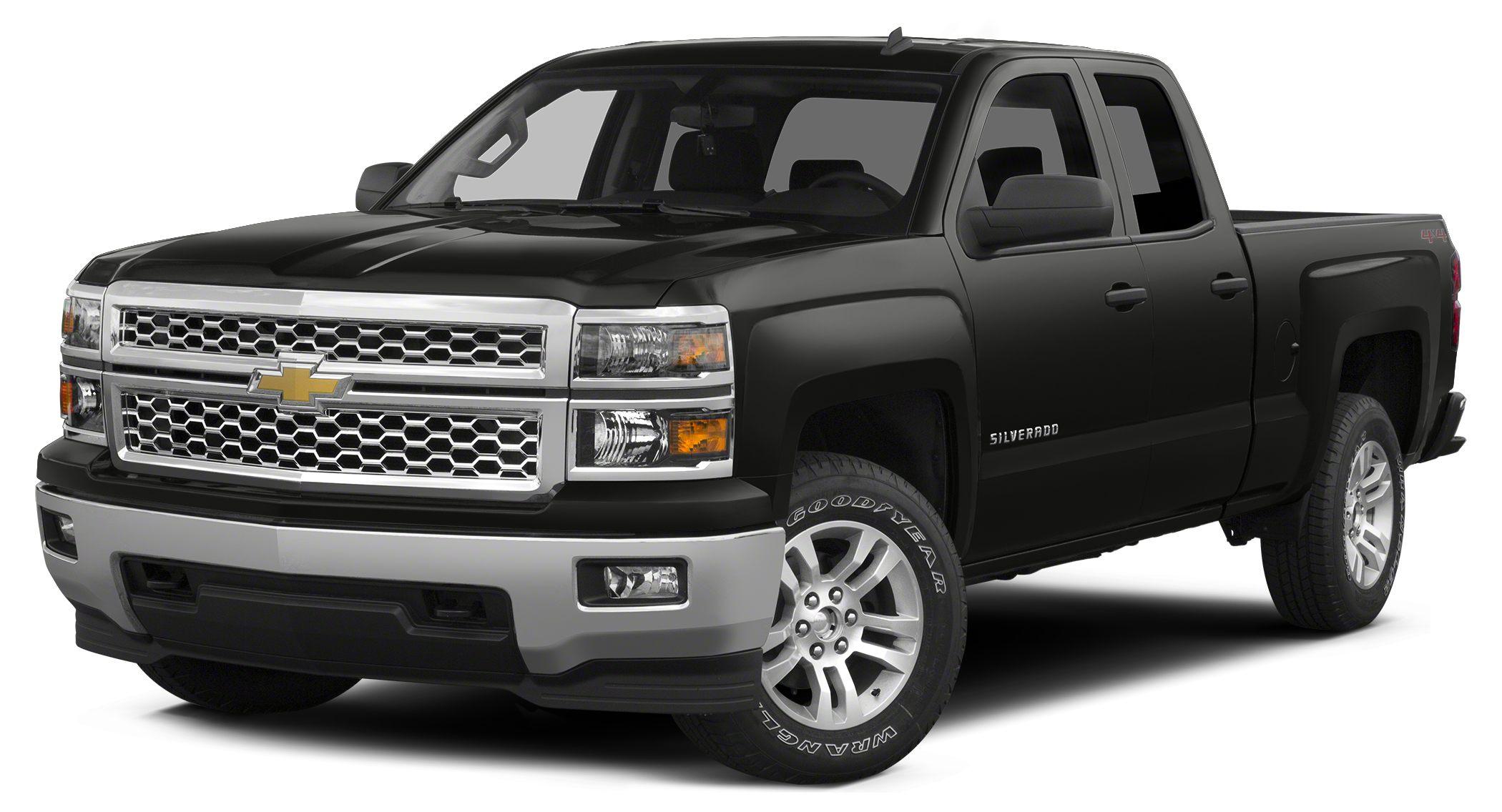 2014 Chevrolet Silverado 1500 WT Clean Carfax - 1 Owner - 4WD - Bluetooth For Phone - Power window
