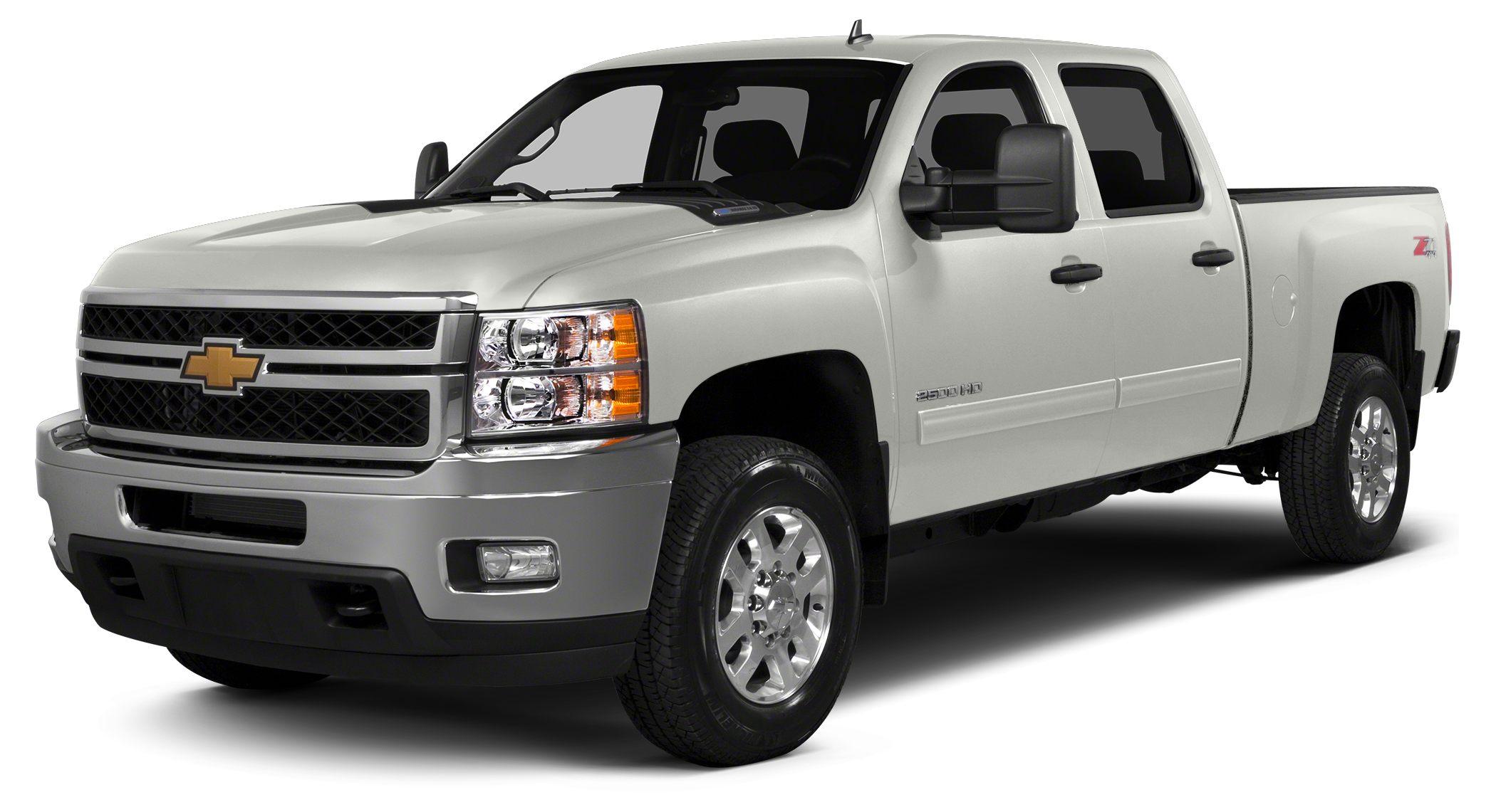 2014 Chevrolet Silverado 2500HD LT  REMAINDER OF FACTORY WARRANTY ACCIDENT FREE AUTOCHECK