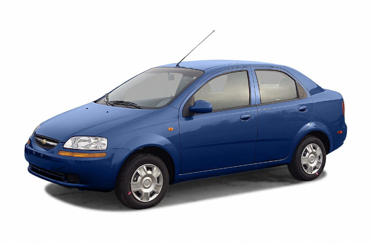 2004 Chevrolet Aveo  Recent Arrival Blue 2004 Chevrolet Aveo FWD 5-Speed Manual with Overdrive E-