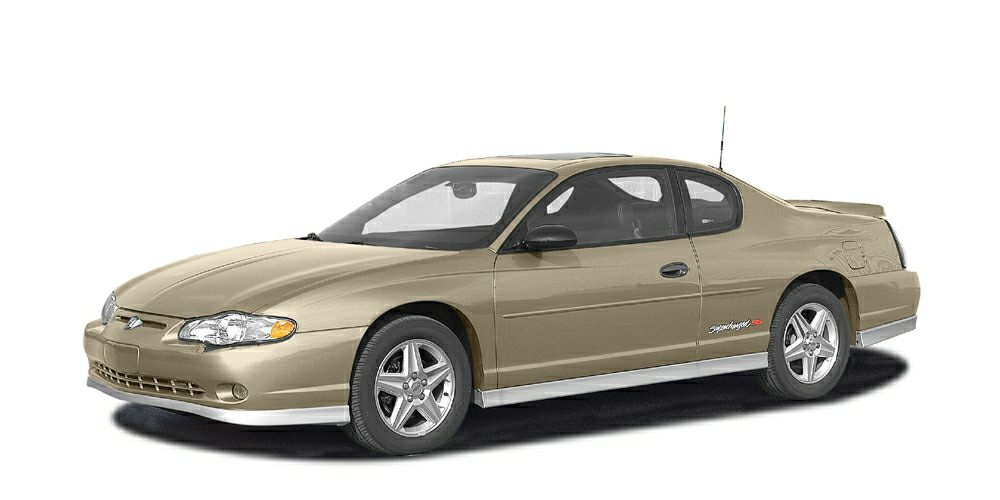 2004 Chevrolet Monte Carlo LS Miles 118096Color Sandstone Metallic Stock B43121 VIN 2G1WW12E